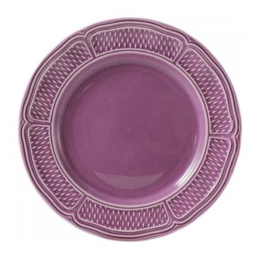 Набор из 4 тарелок для супа. Pont aux choux améthyste