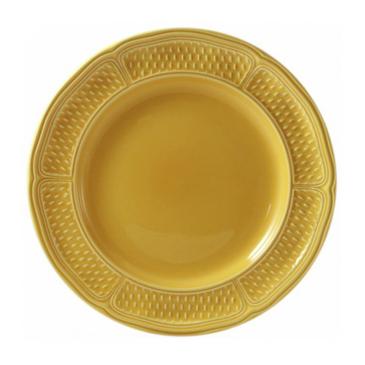 Обеденная тарелка. Pont aux choux jaune