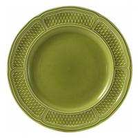 Блюдо круглое. Pont aux choux vert