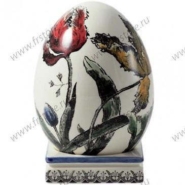 Яйцо на подставке. Tulipes Polychrome