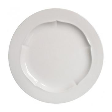 Набор из 6 десертных тарелок. Evol blanc