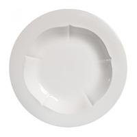 Набор из 6 тарелок для супа. Evol blanc