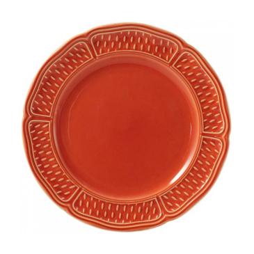 Набор из 4 тарелок для канапе. Pont aux choux terracotta