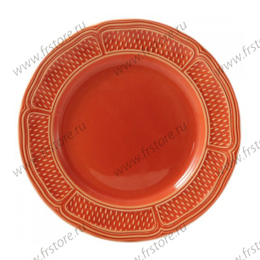 Набор из 4 тарелок для супа. Pont aux choux terracotta