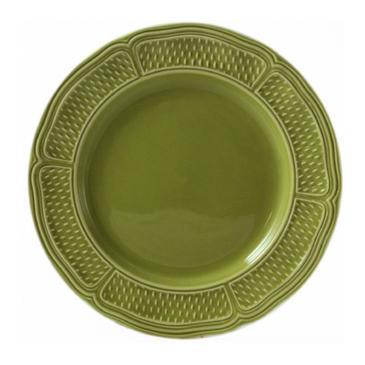 Десертная тарелка. Pont aux choux vert