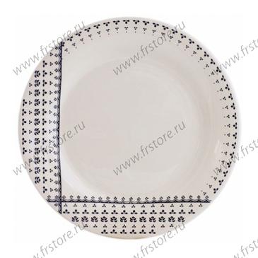 Набор из 4 обеденных тарелок. à table - Deauville