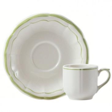 Набор из 2 чашек для кофе с блюдцем. Filet Vert