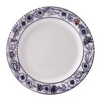 Набор из 4 обеденных тарелок. Fables de La Fontaine