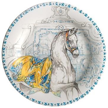 Тарелка для канапе. Chevaux du Soleil
