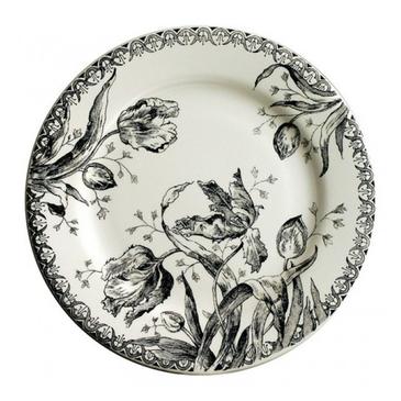 Десертная тарелка. Tulipes noires