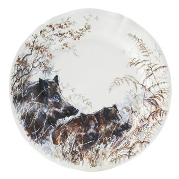 Десертная тарелка Кабаны Sologne gien