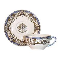 Чашка для чая с блюдцем. Dionysos.