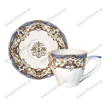 Чашка для кофе с блюдцем. Dionysos.