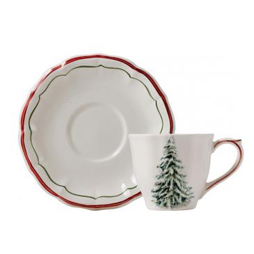 Чашка для чая с блюдцем Noel