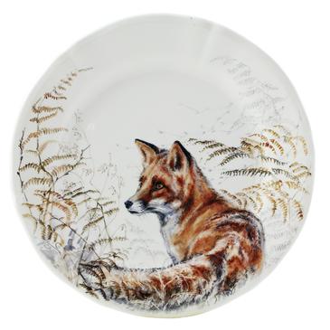 Десертная тарелка Лиса Sologne gien