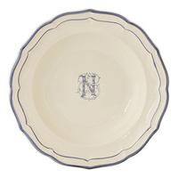 Тарелка для супа. Filet Bleu Monogramme