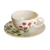 Чашка для чая с блюдцем. Herbier du Roy