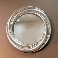 Зеркало круглое - серебро