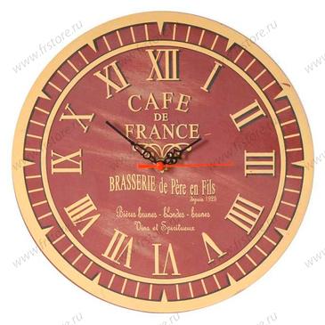 """Настенные часы """"Кафе Франции"""""""