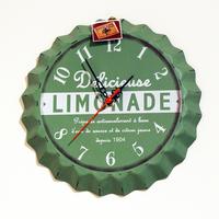 Настенные часы зеленые