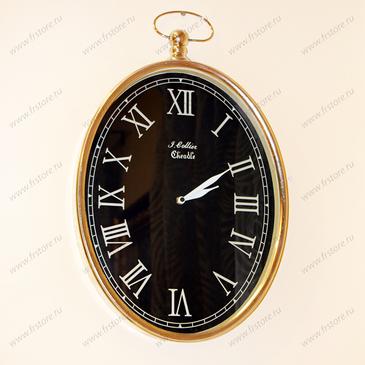 Часы настенные овальные