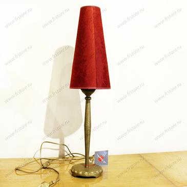 Лампа настольная красная