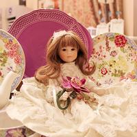 Фарфоровая кукла Алиса