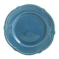 Тарелка для канапе. Rocaille Bleu givre
