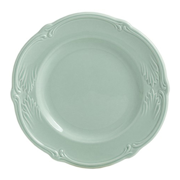 Тарелка для канапе. Rocaille Vert celadon