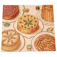 Квадратное большое блюдо Desserts Gourmands gien