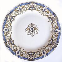 Набор из 6 десертных тарелок. Dionysos