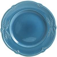 Обеденная тарелка. Rocaille Bleu givre