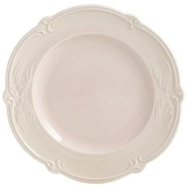 Обеденная тарелка. Rocaille Rose poudre