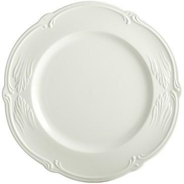 Обеденная тарелка. Rocaille Blanc