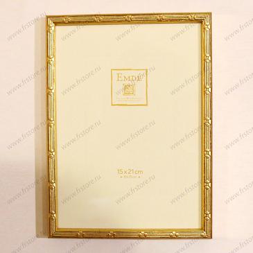 Рамка золото с паспарту