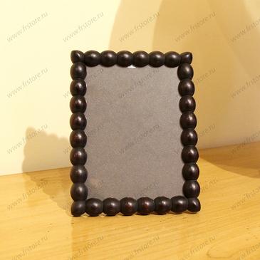 Рамка-шарики черная
