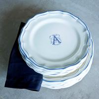 Filet bleu Monogramme/ Синяя нить с монограммой