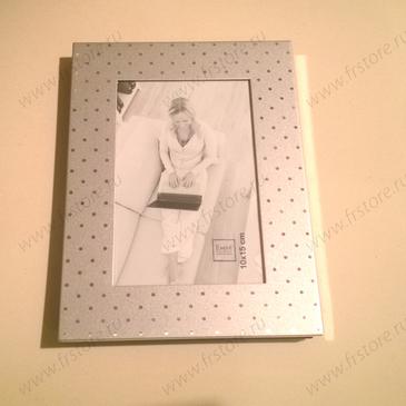 Рамка для фотографии серебро 10 х 15