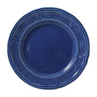 Десертная тарелка. Pont aux choux bleu