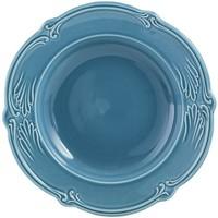 Тарелка для супа. Rocaille Bleu givre