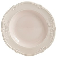 Тарелка для супа. Rocaille Rose poudre