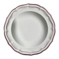 Тарелка для супа. Filet Rose gien
