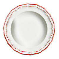 Тарелка для супа. Filet Rounge gien