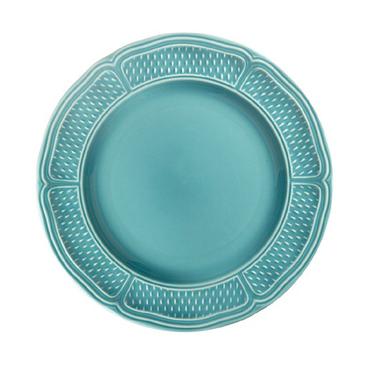 Набор из 4 тарелок для канапе. Pont aux choux TURQUOISE