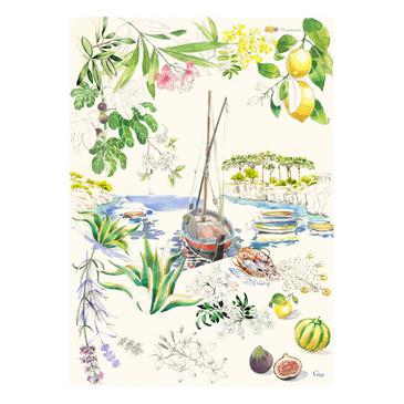 Кухонное полотенце. Provence gien