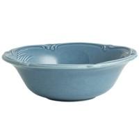 Тарелка для завтрака большая. Rocaille Bleu givre